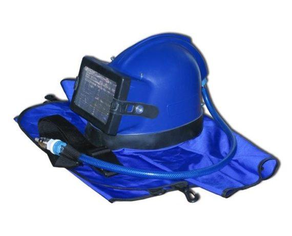 Шлем пескоструйщика Vector